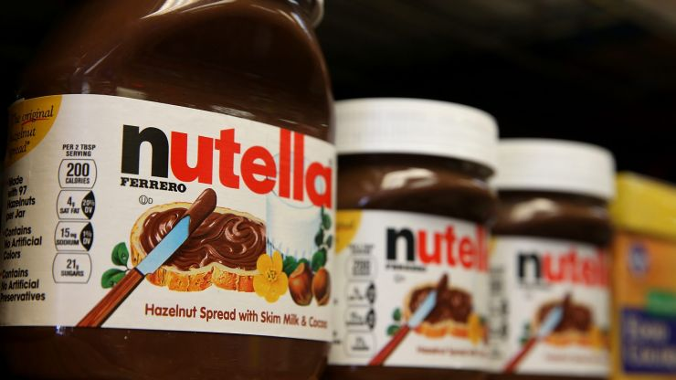 Someone has created White Chocolate Nutella and everyone wants to try it