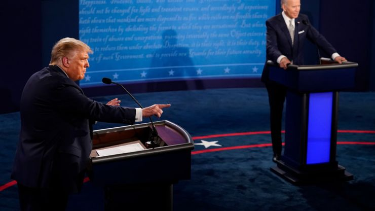 A mute button will be used in the next presidential debate
