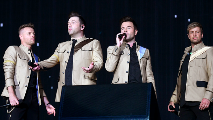 The hour-long Westlife special is being shown again this afternoon