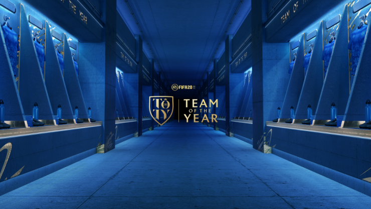 The EA SPORTS™ FIFA 20 Team of the Year has been revealed