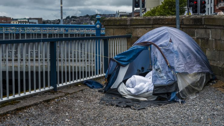 Adult homelessness figures rise again in latest official statistics