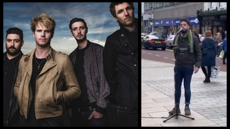 WATCH: Kodaline ask for help to find this busker so he can join them on stage at their next gig
