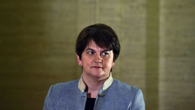 "Arlene Foster says Northern Ireland testing ""massively more advanced than"" in Republic"