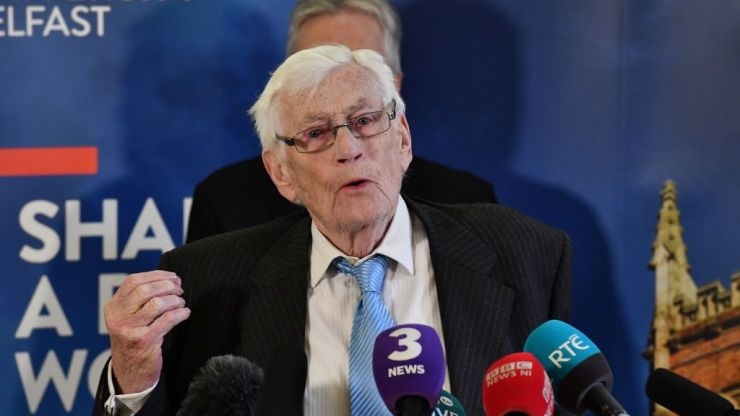 Former Northern Ireland deputy first minister Seamus Mallon has died aged 83