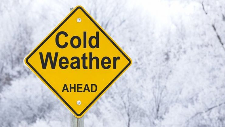 Wrap up warm folks, temperatures are set to drop to -3 this week
