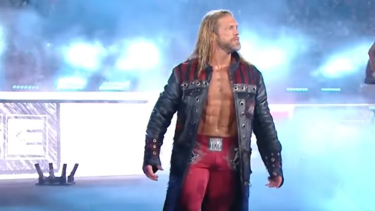 Edge makes electrifying return at WWE Royal Rumble