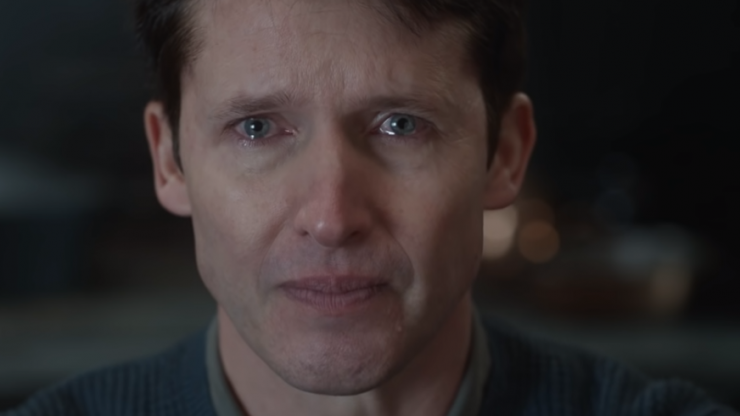 Take some time to watch the music video for James Blunt's 'Monsters'