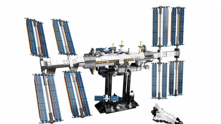 A LEGO version of the International Space Station is being released