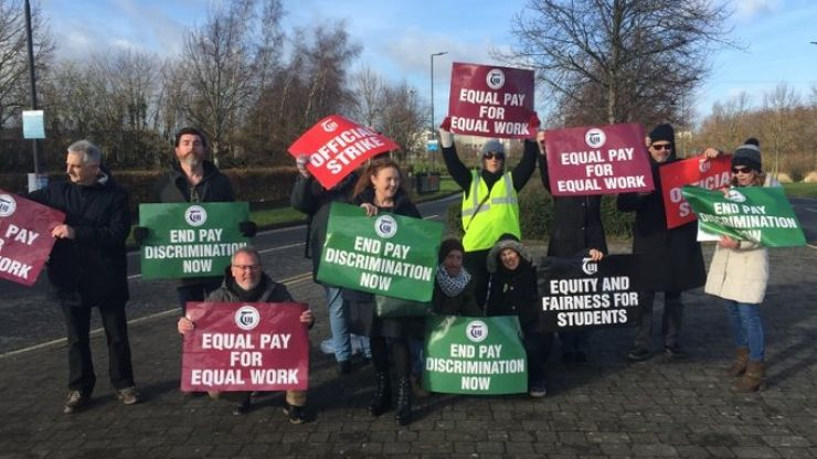 "Teachers' Union of Ireland vows to continue campaign ""until pay discrimination is finally eliminated"""