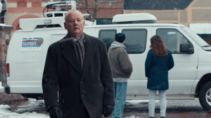 Bill Murray stars in an excellent Groundhog Day Superbowl commercial