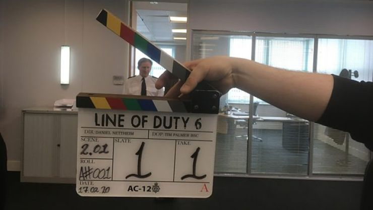 First images from Season 6 of Line of Duty suggests a new character is already commanding AC-12's attention