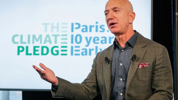 World's richest man commits $10 billion to help fight climate change