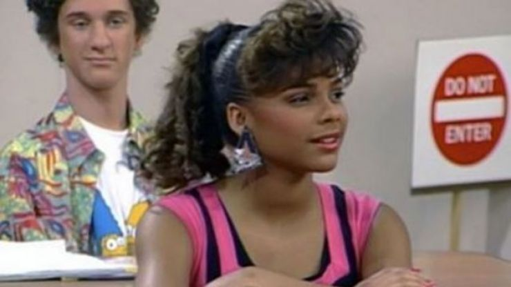 Lark Voorhies is not too pleased about being snubbed from the Saved by the Bell reboot