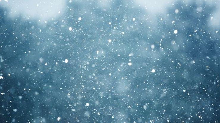 Met Éireann says snow will fall tomorrow night before a rainy weekend