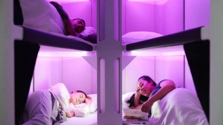 Air New Zealand wants to introduce bunk beds on its flights for economy classes