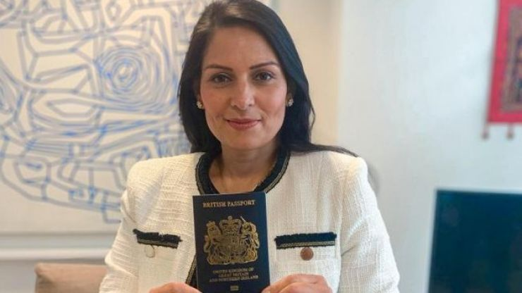 """Britain's """"iconic"""" post-Brexit passport unveiled, actually manufactured in Poland"""