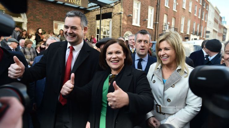 Latest Red C poll suggests highest ever support for Sinn Féin