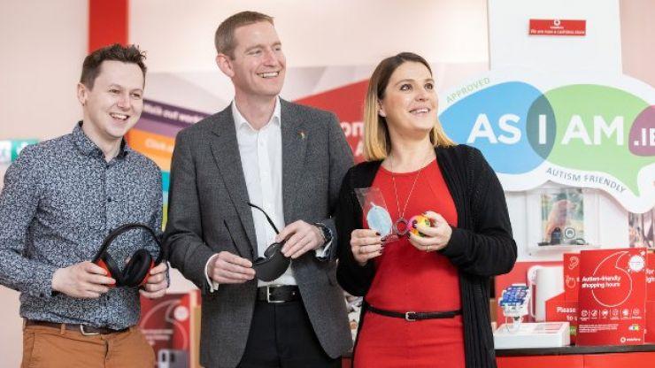 Vodafone Ireland announces autism-friendly store hours