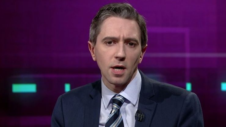 """Simon Harris says the pressure of his job has been """"on a different level"""" since Covid-19"""