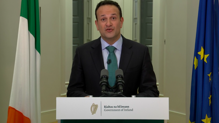 The full transcript of Leo Varadkar's St. Patrick's Day address to the nation