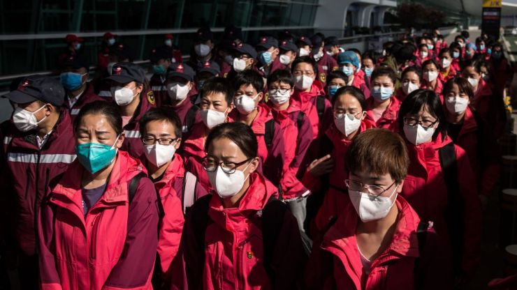 China reports no new domestic cases of Covid-19 for the first time since outbreak