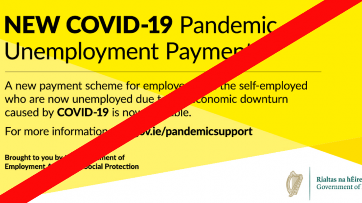 Direct Provision jobless unable to claim Pandemic Unemployment Payment