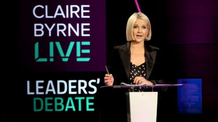 Tonight's Claire Byrne Live to ask if it's time for a united Ireland