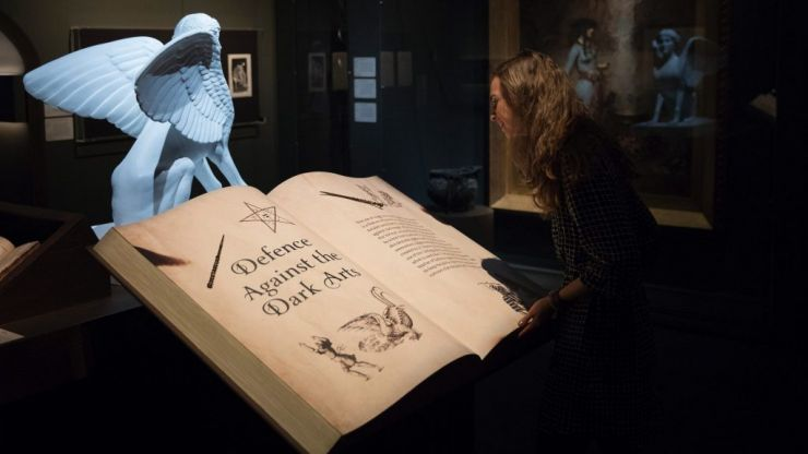 Harry Potter exhibit at British Library made available online