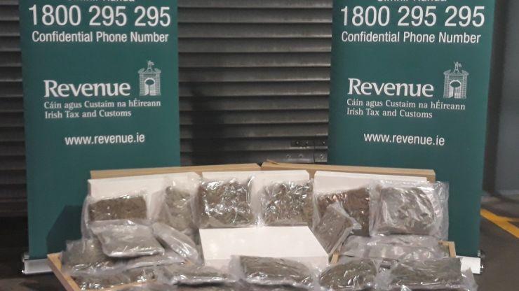 €440,000 worth of cannabis seized in Dublin