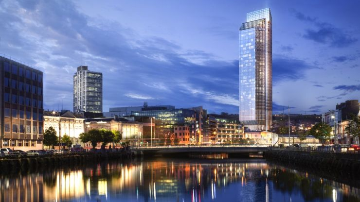 Planning permission granted for what will become Ireland's tallest building in Cork
