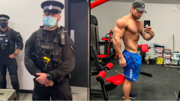 Armed police close gym near Liverpool after owner refused to shut doors