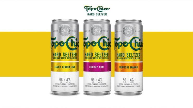 Coca-Cola to bring new Topo Chico Hard Seltzer to Ireland