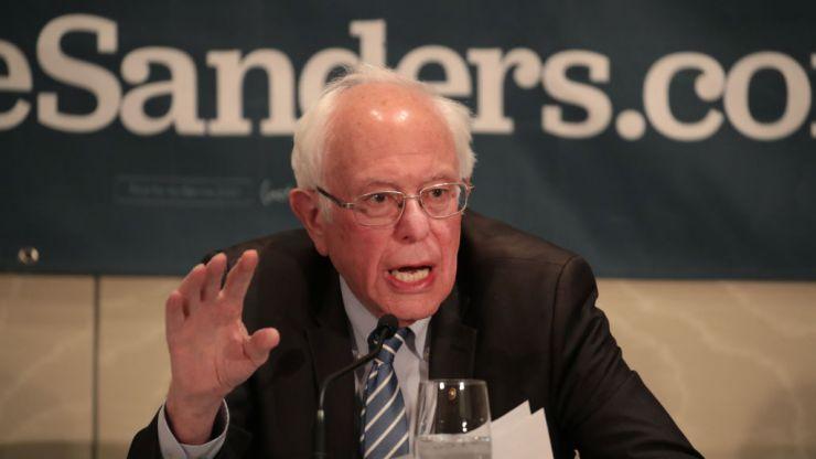 Bernie Sanders predicted Trump's election night chaos 10 days ago