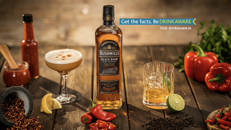 Bushmills Black Bush collaborates with hot sauce producer to host a series of cocktail masterclasses