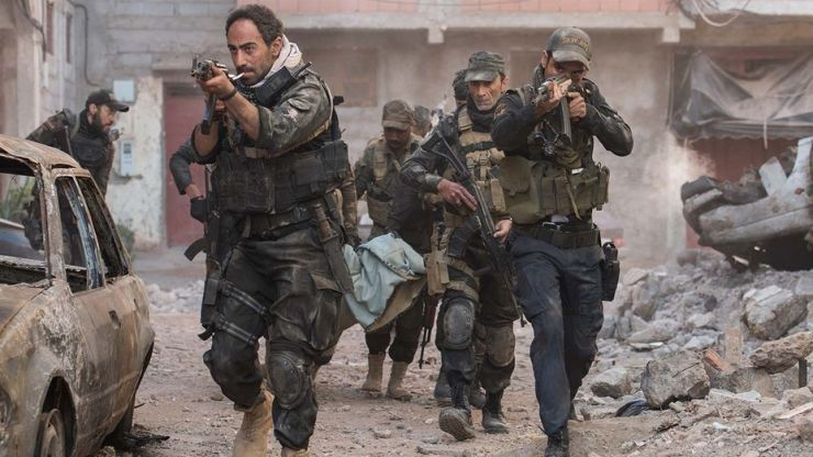 Netflix's action-packed trailer for new film Mosul sees Iraqi SWAT taking on ISIS