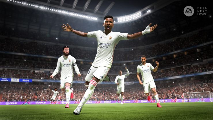 PS5 controller trigger will tighten to indicate player fatigue on FIFA 21