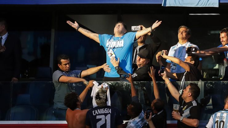 Diego Maradona: A remarkable career in pictures