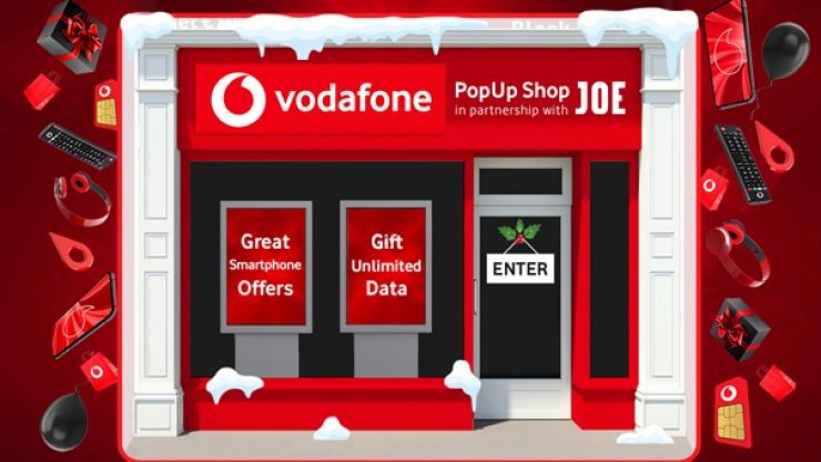 Your last chance to check out some great deals on JOE's Vodafone Pop-Up shop