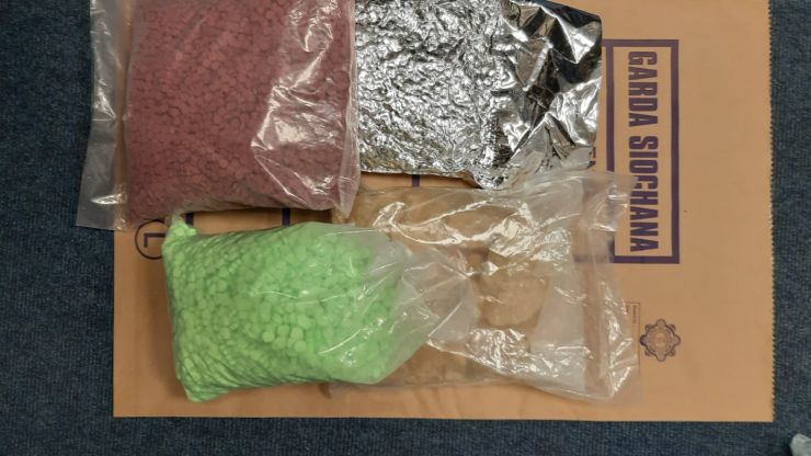 €5 million of suspected ecstasy and MDMA seized by Gardaí in Dublin