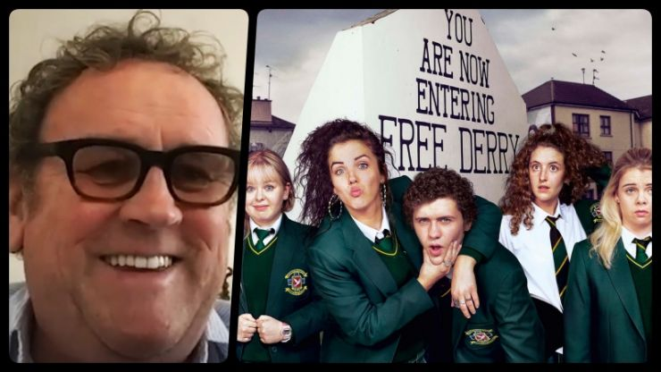 "Irish acting legend Colm Meaney would ""love to do a cameo"" in Derry Girls"