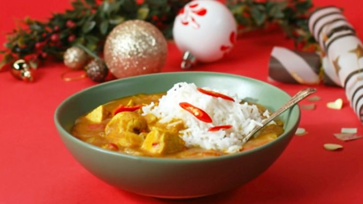 The perfect turkey curry recipe to try this Christmas