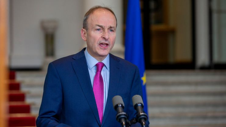 """If invited, I will go."" Micheál Martin on St. Patrick's Day trip to the White House"