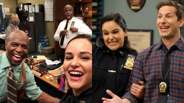 Brooklyn Nine-Nine has officially started filming season eight