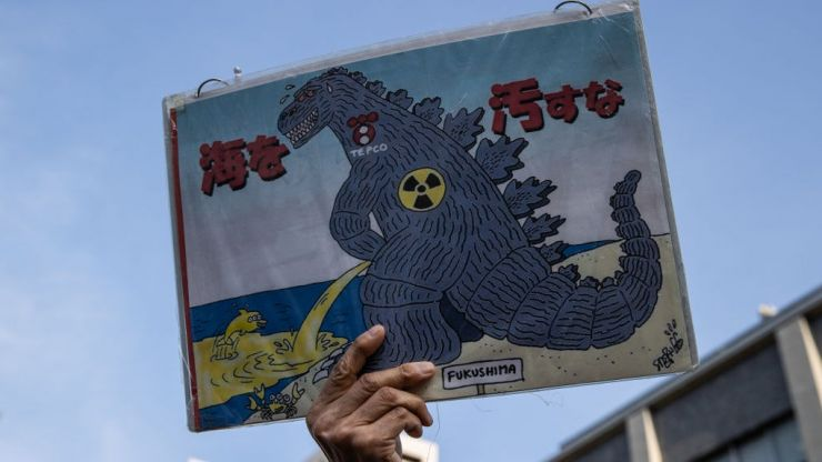 Japan to release one million tonnes of contaminated Fukushima water into the sea