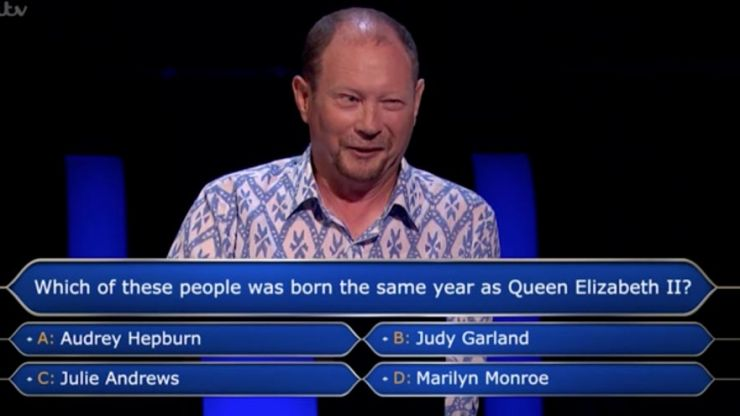 QUIZ: Can you answer all of Davyth Fear's Who Wants to be a Millionaire questions?
