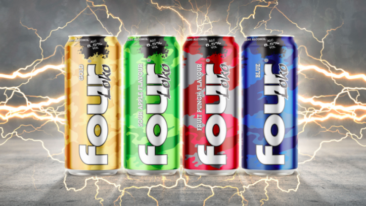 You can buy Four Loko in Ireland now