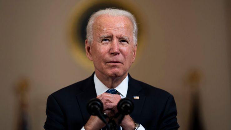 "Joe Biden calls Derek Chauvin verdict ""a giant step forward"" towards justice in America"