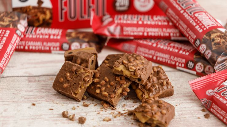 Fulfil launch new chocolate caramel protein bar... into space