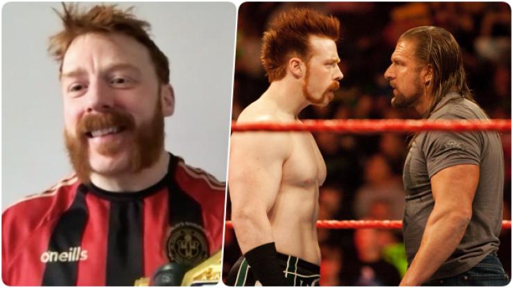 WWE's Sheamus on boyhood wrestling heroes, Triple H grá and representing the Northside