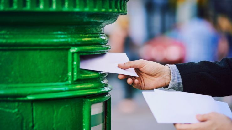 The price of posting letters in Ireland is set to increase